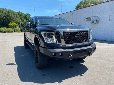 2017 Nissan Titan XD for sale at LUXURY AUTO MALL in Tampa FL