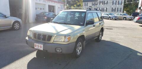 2001 Subaru Forester for sale at Union Street Auto in Manchester NH