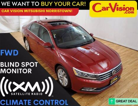 2018 Volkswagen Passat for sale at Car Vision Mitsubishi Norristown in Trooper PA