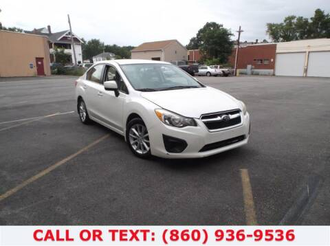 2012 Subaru Impreza for sale at Lee Motor Sales Inc. in Hartford CT