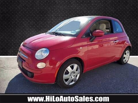 2012 FIAT 500c for sale at Hi-Lo Auto Sales in Frederick MD