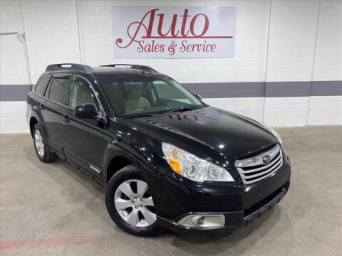 2010 Subaru Outback for sale at Auto Sales & Service Wholesale in Indianapolis IN
