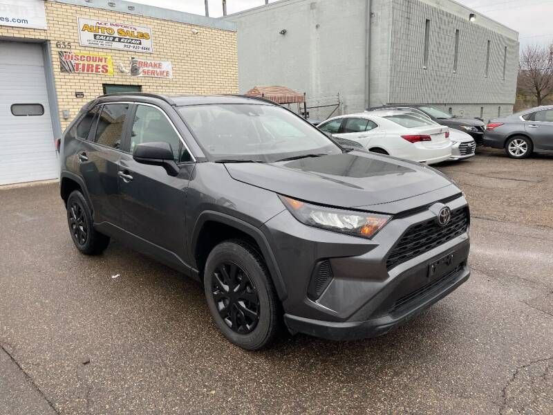 2020 Toyota RAV4 for sale at ACE IMPORTS AUTO SALES INC in Hopkins MN