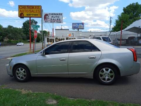 2007 Cadillac CTS for sale at Cherokee Auto Sales in Knoxville TN