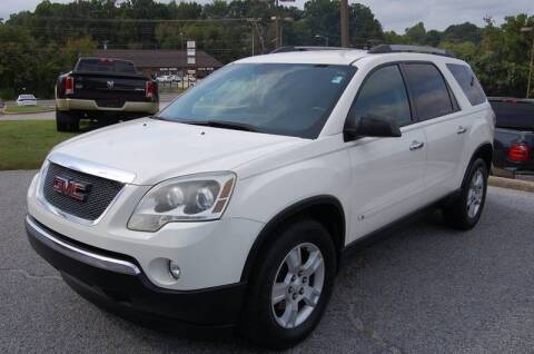2010 GMC Acadia for sale at Modern Motors - Thomasville INC in Thomasville NC