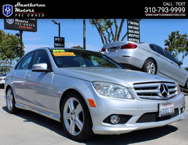 2010 Mercedes-Benz C-Class for sale at Hawthorne Motors Pre-Owned in Lawndale CA