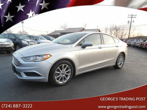 2017 Ford Fusion for sale at GEORGE'S TRADING POST in Scottdale PA