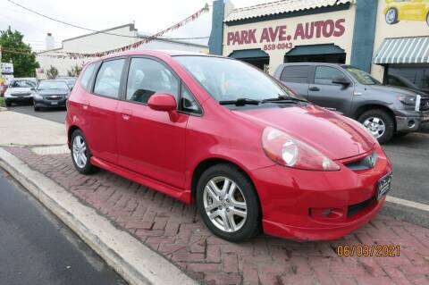 2008 Honda Fit for sale at PARK AVENUE AUTOS in Collingswood NJ