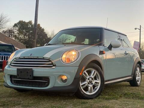 2012 MINI Cooper Hardtop for sale at Texas Select Autos LLC in Mckinney TX