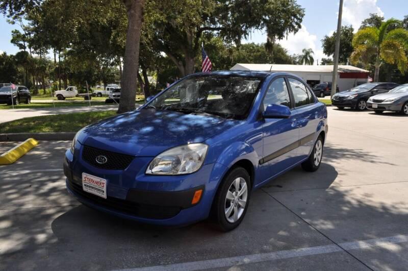 2009 Kia Rio for sale at STEPANEK'S AUTO SALES & SERVICE INC. in Vero Beach FL