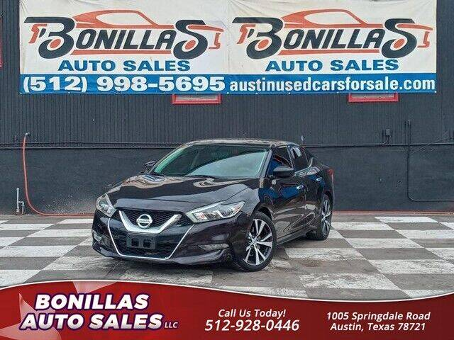 2017 Nissan Maxima for sale at Bonillas Auto Sales in Austin TX