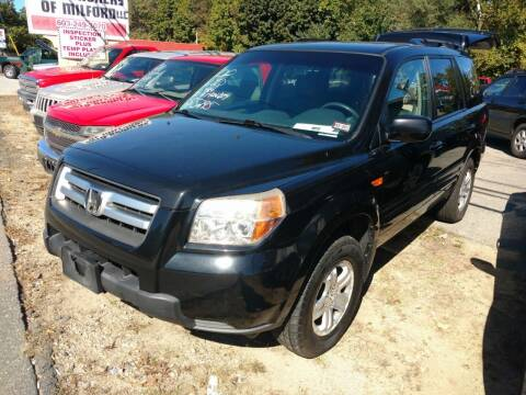 2008 Honda Pilot for sale at Auto Brokers of Milford in Milford NH