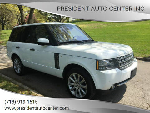 2011 Land Rover Range Rover for sale at President Auto Center Inc. in Brooklyn NY
