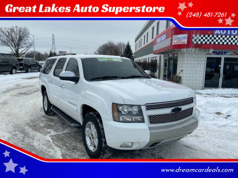 2007 Chevrolet Suburban for sale at Great Lakes Auto Superstore in Pontiac MI