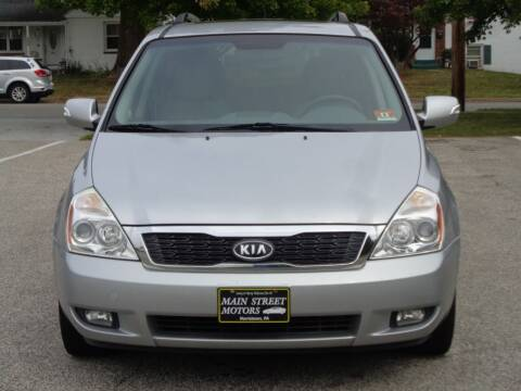 2011 Kia Sedona for sale at MAIN STREET MOTORS in Norristown PA