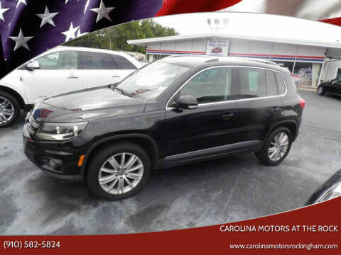 2012 Volkswagen Tiguan for sale at Carolina Motors at the Rock in Rockingham NC