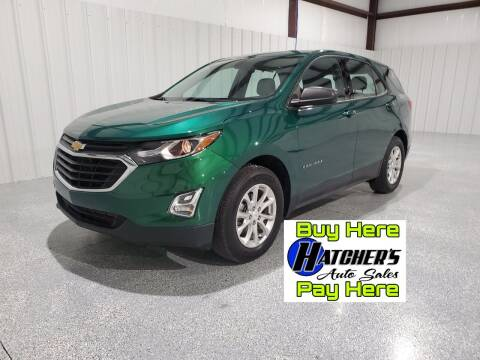 2018 Chevrolet Equinox for sale at Hatcher's Auto Sales, LLC - Buy Here Pay Here in Campbellsville KY