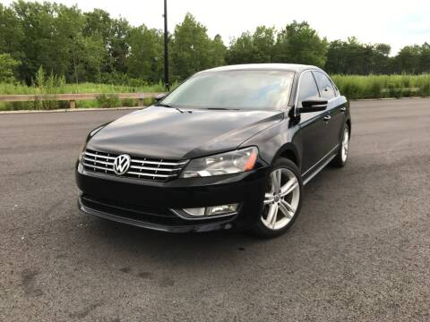 2013 Volkswagen Passat for sale at CLIFTON COLFAX AUTO MALL in Clifton NJ