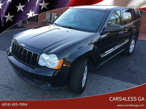 2010 Jeep Grand Cherokee for sale at Cars4Less GA in Alpharetta GA