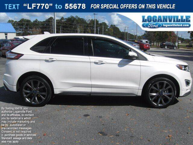 2017 Ford Edge for sale at Loganville Ford in Loganville GA