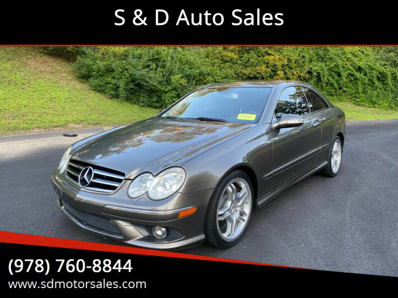 2009 Mercedes-Benz CLK for sale at S & D Auto Sales in Maynard MA