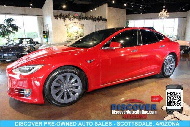 2016 Tesla Model S for sale at Discover Pre-Owned Auto Sales in Scottsdale AZ