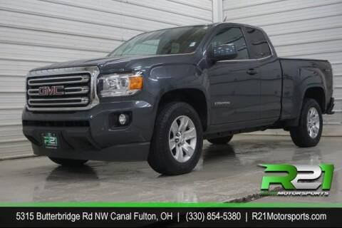 2016 GMC Canyon for sale at Route 21 Auto Sales in Canal Fulton OH