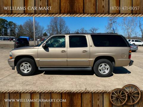 2005 Chevrolet Suburban for sale at WILLIAMS CAR MART in Gassville AR