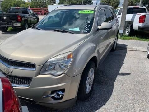 2011 Chevrolet Equinox for sale at DAN'S DEALS ON WHEELS AUTO SALES, INC. in Davie FL