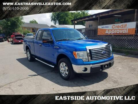 2012 Ford F-150 for sale at EASTSIDE AUTOMOTIVE LLC in Nashville TN