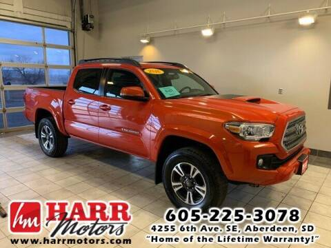 2016 Toyota Tacoma for sale at Harr Motors Bargain Center in Aberdeen SD