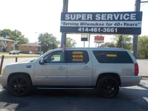 2007 Cadillac Escalade ESV for sale at Super Service Used Cars in Milwaukee WI