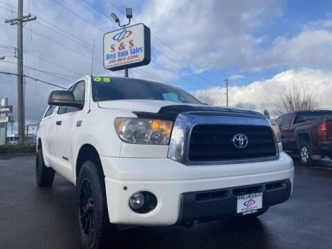 2008 Toyota Tundra for sale at S&S Best Auto Sales LLC in Auburn WA