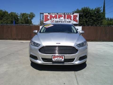 2016 Ford Fusion for sale at Empire Auto Sales in Modesto CA