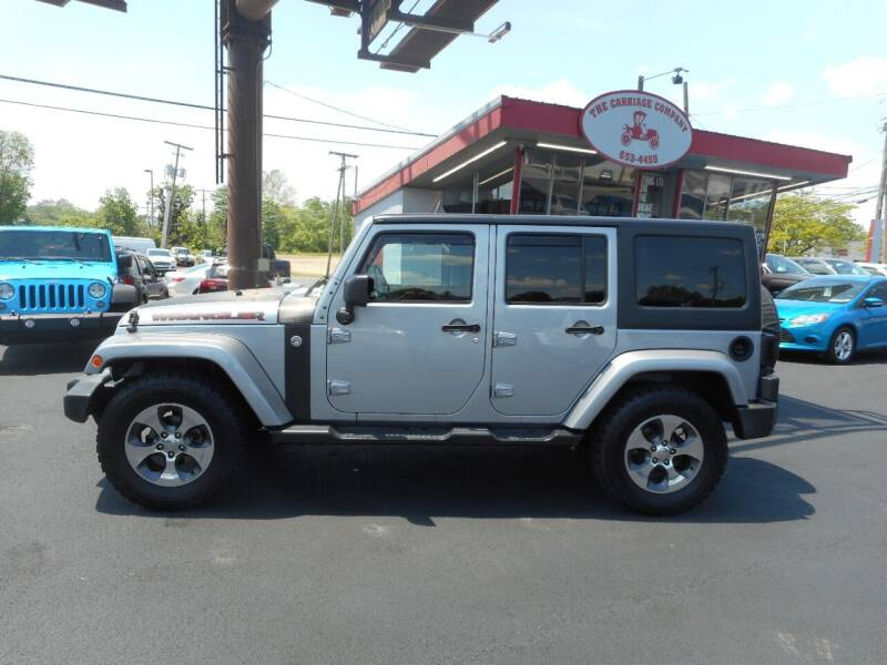 2016 Jeep Wrangler Unlimited for sale at The Carriage Company in Lancaster OH