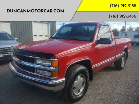 1998 Chevrolet C/K 1500 Series for sale at DuncanMotorcar.com in Buffalo NY