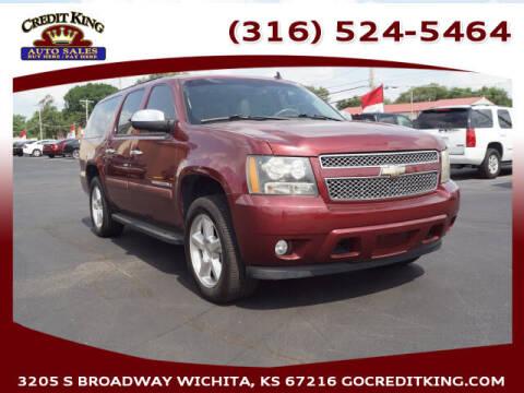 2008 Chevrolet Suburban for sale at Credit King Auto Sales in Wichita KS