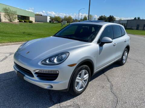2012 Porsche Cayenne for sale at JE Autoworks LLC in Willoughby OH