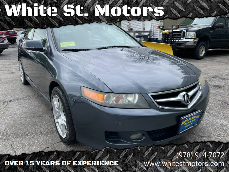 2007 Acura TSX for sale at White St. Motors in Haverhill MA