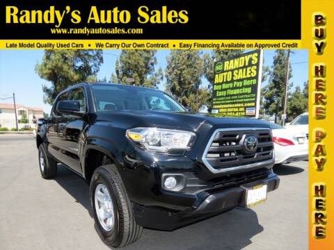 2018 Toyota Tacoma for sale at Randy's Auto Sales in Ontario CA