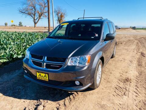2019 Dodge Grand Caravan for sale at A AND A AUTO SALES in Gadsden AZ