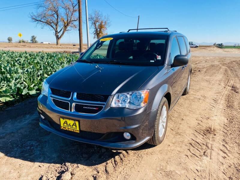2019 Dodge Grand Caravan for sale at A AND A AUTO SALES in Gadsden AZ