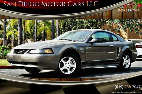2002 Ford Mustang for sale at San Diego Motor Cars LLC in San Diego CA
