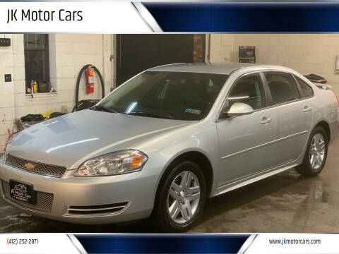 2013 Chevrolet Impala for sale at JK Motor Cars in Pittsburgh PA