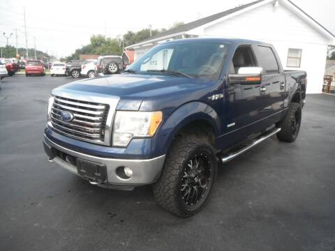 2011 Ford F-150 for sale at Morelock Motors INC in Maryville TN