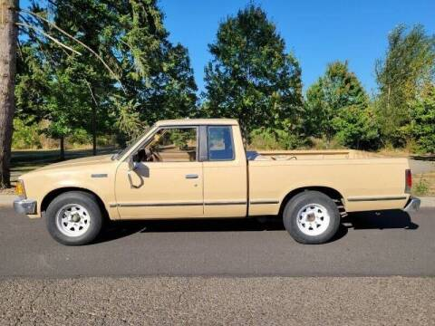 1985 Nissan Pickup for sale at CLEAR CHOICE AUTOMOTIVE in Milwaukie OR