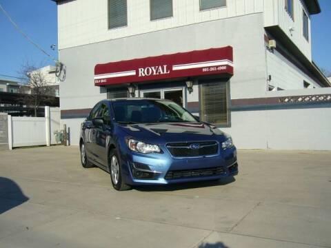 2016 Subaru Impreza for sale at Royal Auto Inc in Murray UT