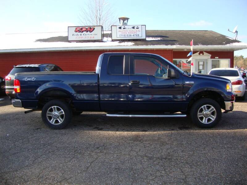 2006 Ford F-150 for sale at G and G AUTO SALES in Merrill WI