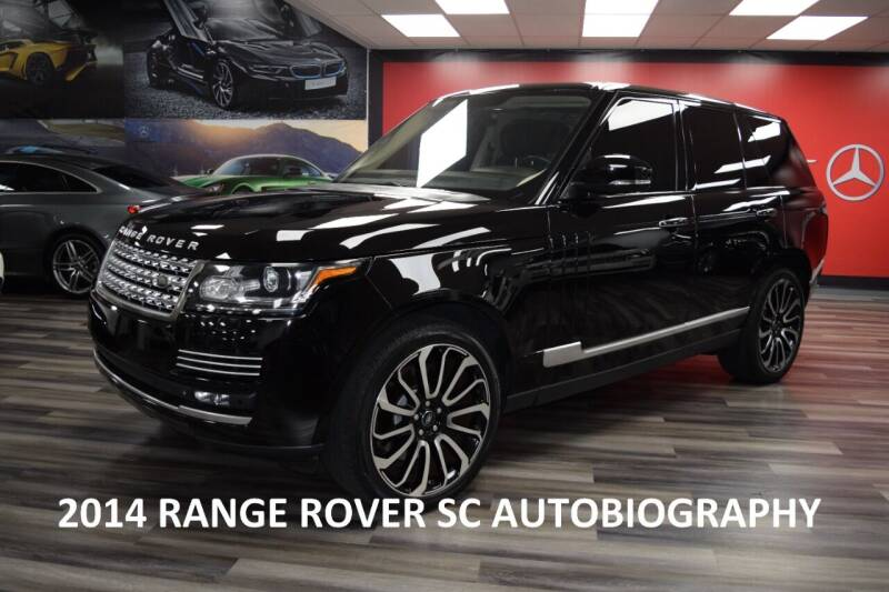 2014 Land Rover Range Rover for sale at Icon Exotics in Houston TX