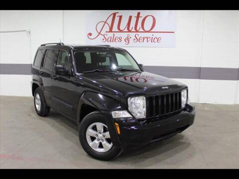 2012 Jeep Liberty for sale at Auto Sales & Service Wholesale in Indianapolis IN